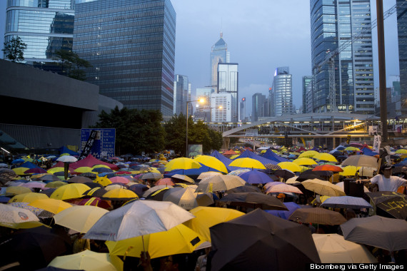 Hong Kong Democracy Protesters Mark One Month As They Face Impasse